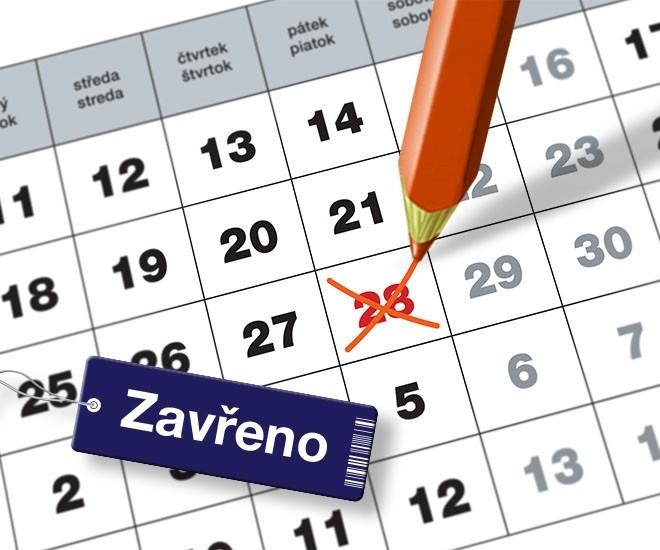 Otevírací doba na státní svátek 28.10.2016