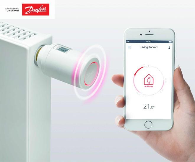 DANFOSS ECO - termostatická hlavice s Bluetooth