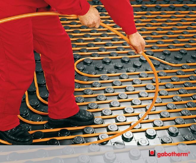 Podlahové vytápění a chlazení Gabotherm®