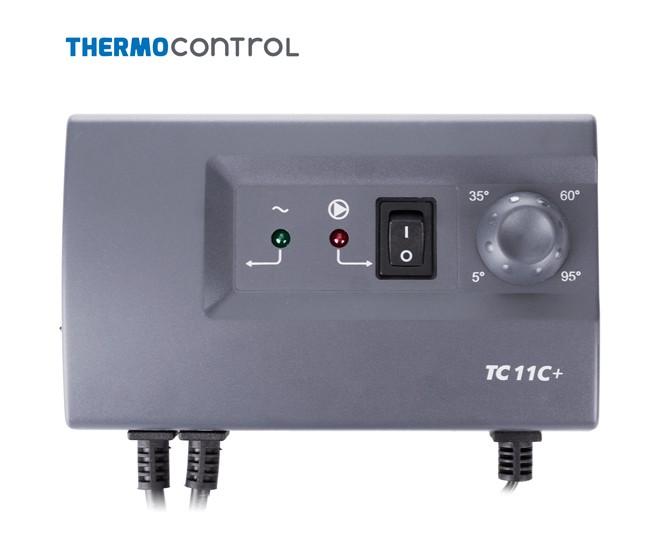 Elektronický termostat TC 11C+ je novinka pro oběhová čerpadla