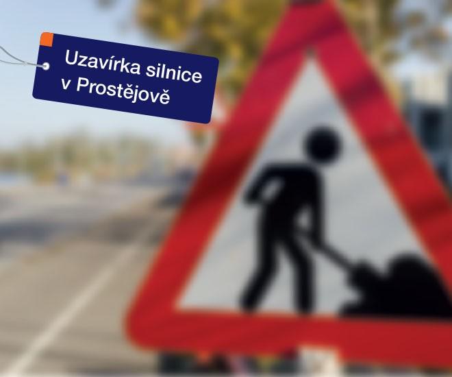 Dopravní omezení u pobočky Prostějov