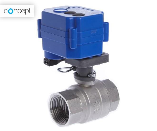 Chytrý ventil Concept ochrání domácnost i firmu