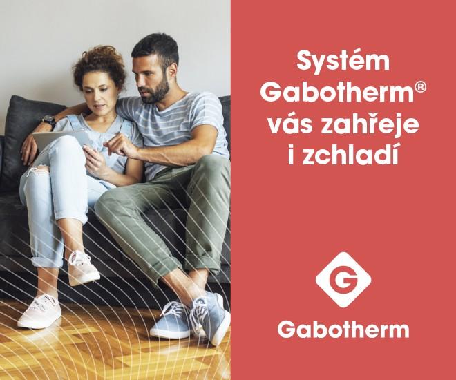 Systémy plošného vytápění a chlazení Gabotherm®