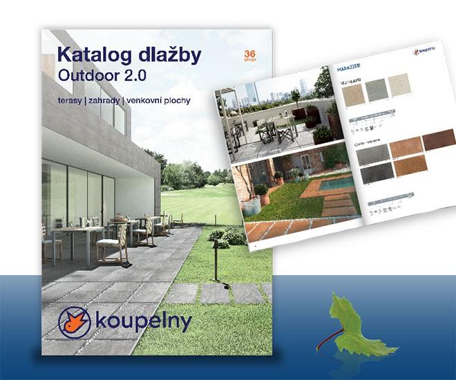 Nový katalog venkovních dlažeb