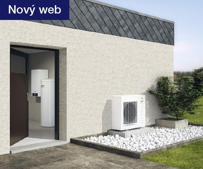 Nový web pro tepelná čerpadla