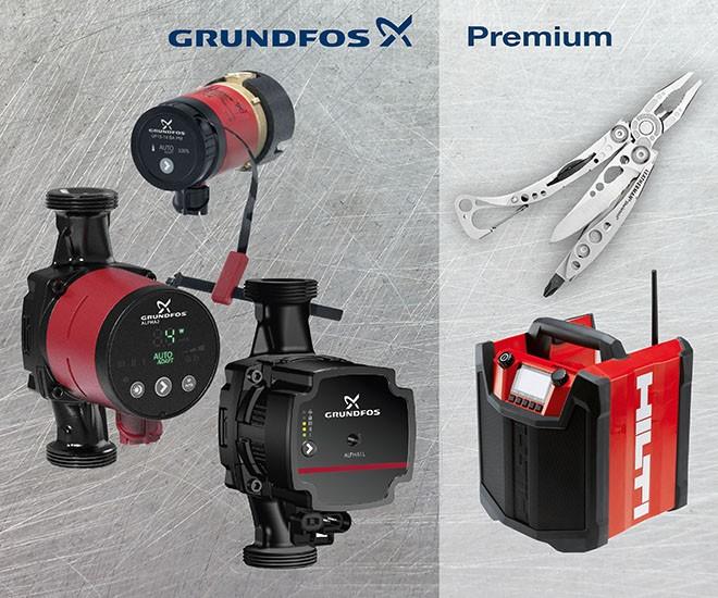 GRUNDFOS Premium Podzimní kampaň 2017