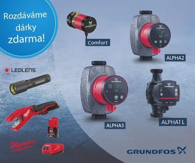 GRUNDFOS Premium - podzimní odměny