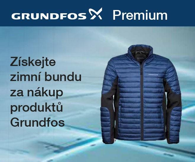 GRUNDFOS Premium - únorové odměny