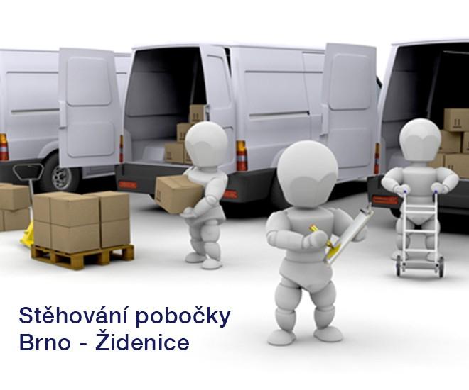 Stěhování IC Židenice do Líšně