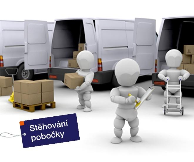 Stěhování IC Hradec Králové II - Bieblova