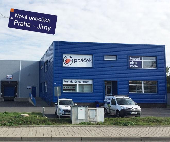 Nově otevřeno - IC Praha-Jirny