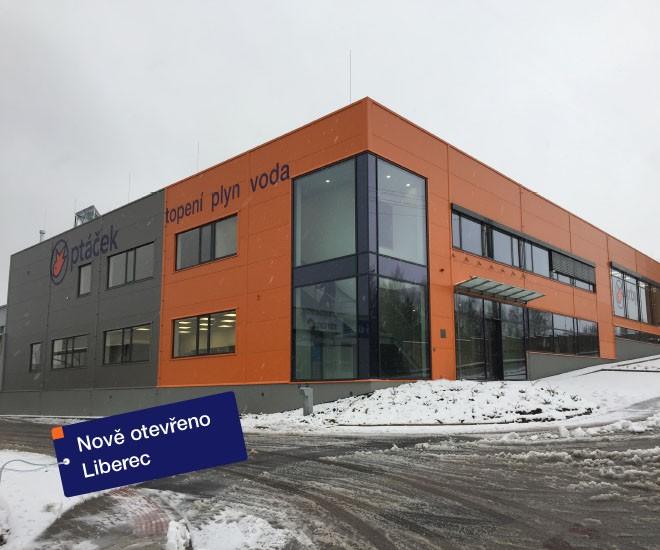 Znovuotevření pobočky Liberec