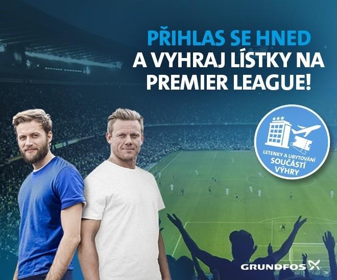 """Zaregistrujte se na """"Grundfos pro instalatéry"""" a vyhrajte lístky na Premier League"""