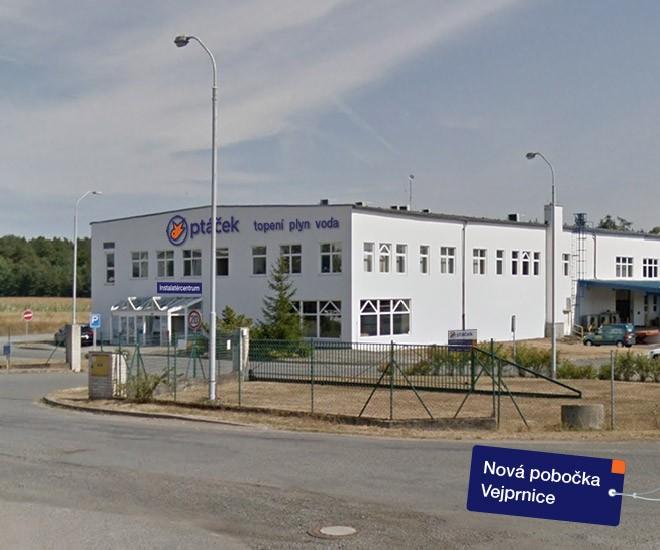 Otevření pobočky Vejprnice a změny v Plzni