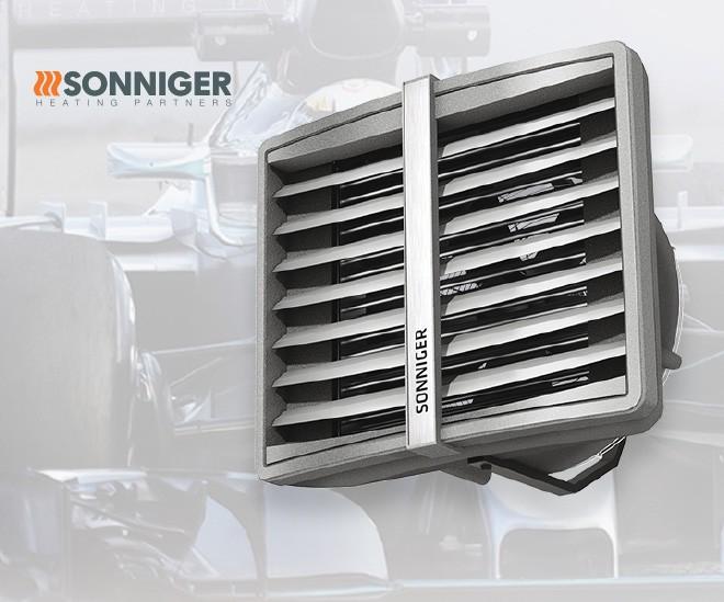SONNIGER je specialista na teplo i výměnu vzduchu v průmyslových objektech
