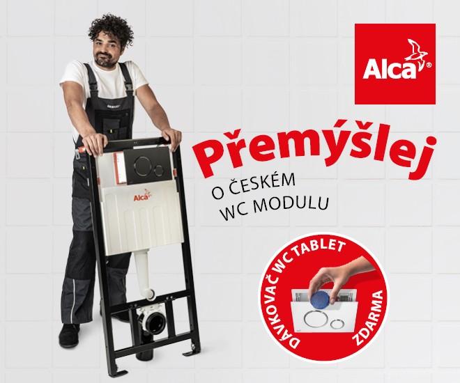 WC moduly Alca – český výrobek se zárukou 15 let
