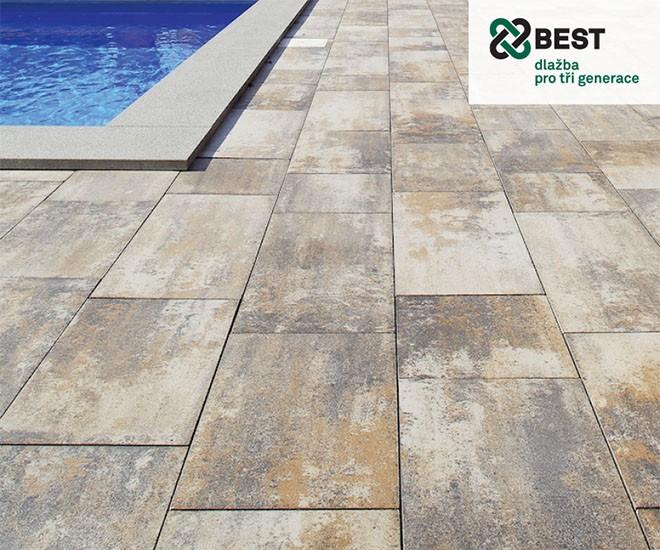 Nejžádanější betonové dlažby BEST za nejlevnější ceny!