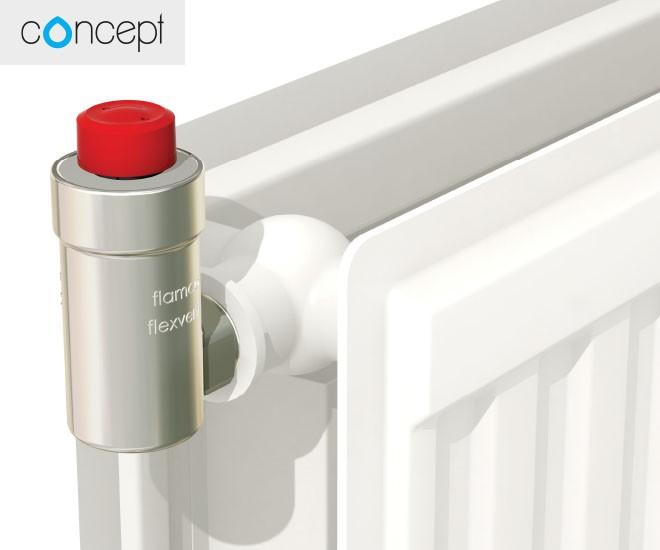 Rohový odvzdušňovací ventil Concept FlexVent H
