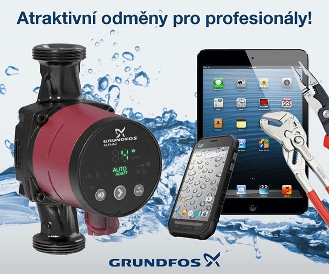 GRUNDFOS Premium - srpnové odměny