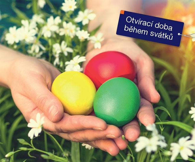 Otevírací doba během velikonočních svátků 2019