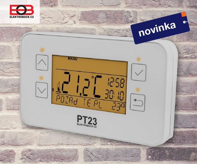 Prostorový termostat ELEKTROBOCK PT23