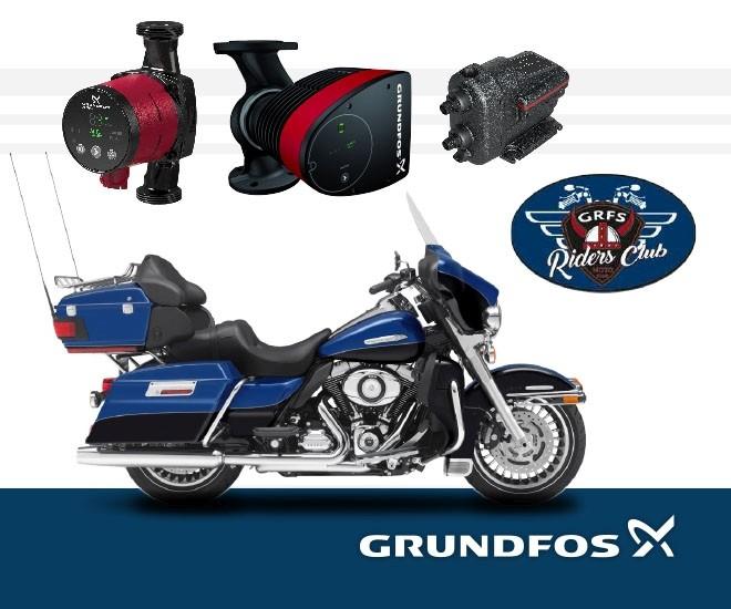 GRUNDFOS Premium - dubnové odměny