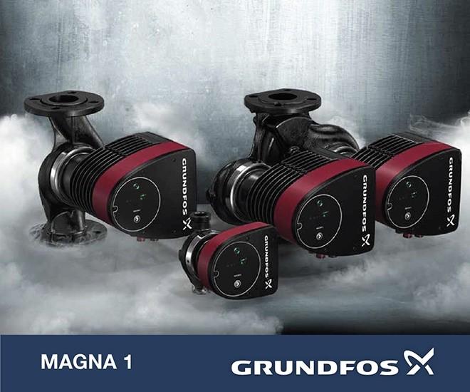 Inovovaná řada čerpadel GRUNDFOS MAGNA1