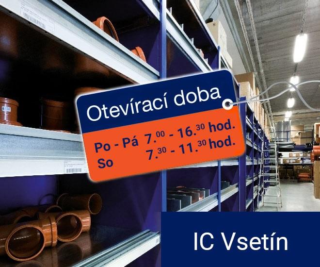 Prodloužení provozní doby - IC Vsetín