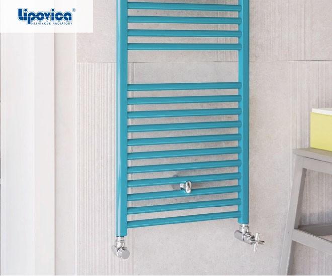 Hliníkové koupelnové radiátory COOL