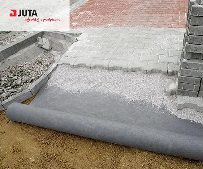 Správný základ - netkaná textilie JUTAFOL