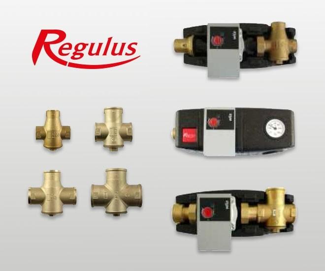 Nové termostatické ventily Regulus