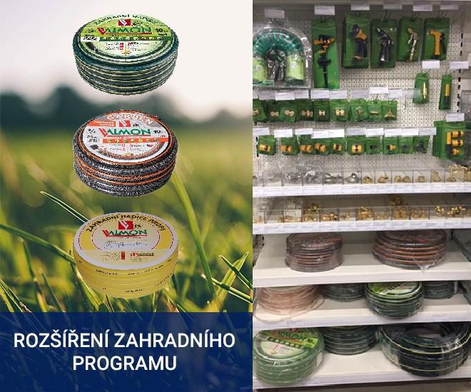 Zahradní program na našich IC