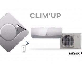 Klimatizace s tepelným čerpadlem DeDietrich CLIM'UP