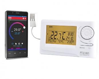 Digitální termostat s WiFi modulem ELEKTROBOCK PT32